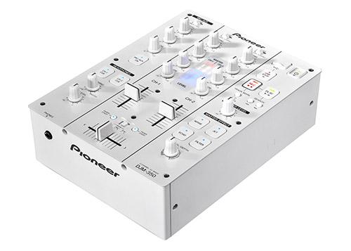 Pioneer DJM 350 Pearl White