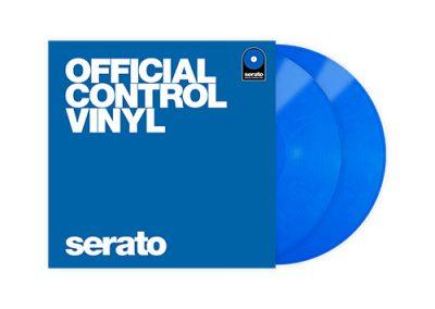 Serato control vinyl blue